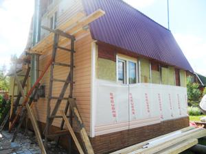 Виды отделки сайдингом фасадов домов